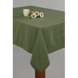 Obrus Kaja zielony z mereżką