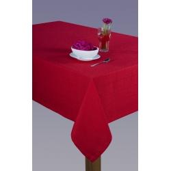 Obrus Kaja czerwony z mereżką