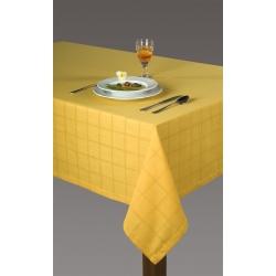 Obrus Kaja żółty z mereżką